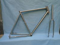 Hot and cheap titanium road bike frame direct