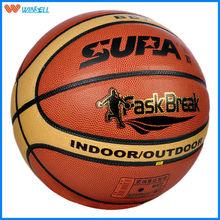 New design durable laminated pvc advertising basketball