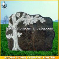 High Quality Granite Tree Headstone Design