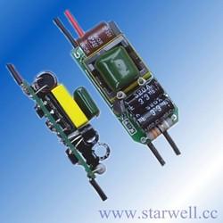 PE235B0530 9-18v 300ma 5W dimmable led driver for led bulbs , E27 LED light