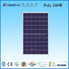 240w high efficiency solar panel price per watt solar panels export goods
