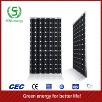 High quality 200w TUV/CE/IEC/MCS Approved Mono Crystalline Solar Panel,Mono Solar Panel System Use