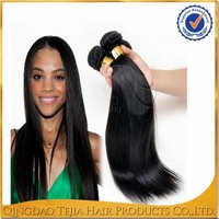 100% Unprocessed 8A grade full cuticle brazilian straight virgin hair