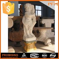 semi precious marble stone sculpture children statue