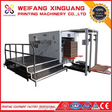 XMB-1300mm Multi-purpose Electric creasing and Folding die cut handle gift paper bags machinery