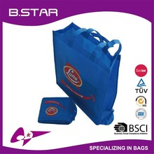 Hot sale Customized LOGO recyclable promotional non-woven shopping bag /polyester shopping bag