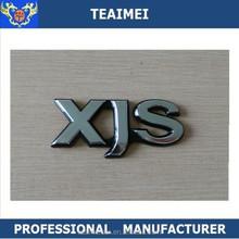 2015 chrome car body sticker with name car emblem badge for jaguar xjs