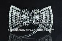 Beautiful Bows Colorful Rhinestone Barrette