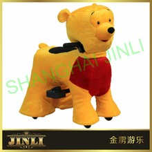 JL-S10 Special plush ride on animal car toy for kids best gift