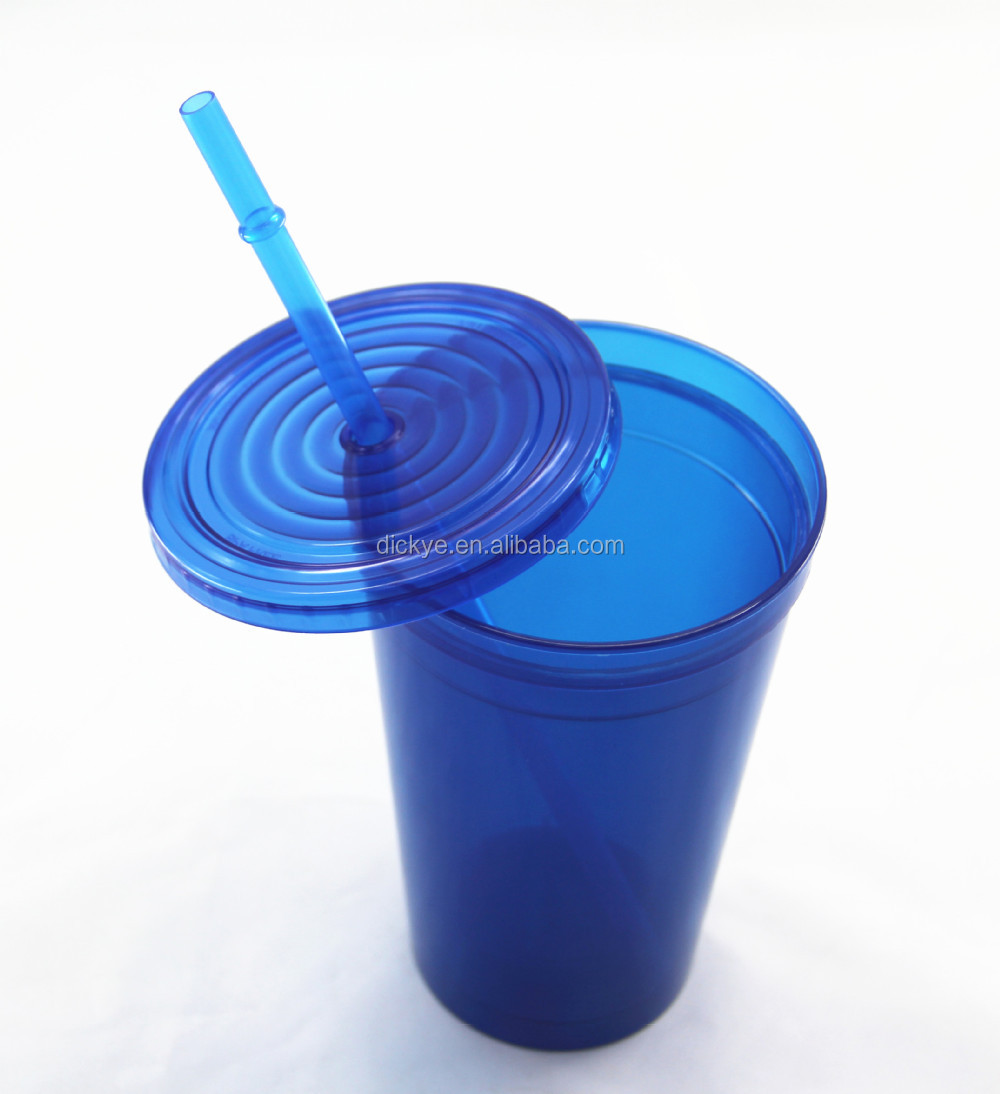straw cup Water Bottle