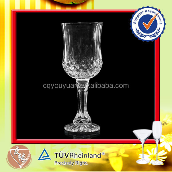 2015 hot sale etched wine glasses wholesale with thick stem buy etched wine glasses wholesale - Wine glasses with thick stems ...