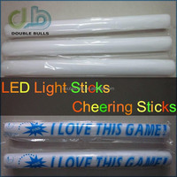 "18"" Multi Color Foam Baton LED Light Sticks - Multicolor Color Changing Rally Foam 3 model flashing"