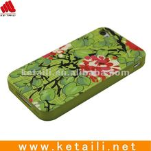 silicone phone pouch for iphone 4g with colorful printing