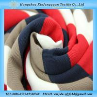 Alibaba china red blue white yarn dyed cotton rib textile fabric