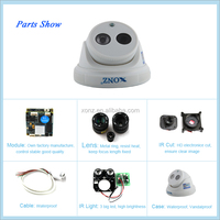 Mini dome!! 2.0 megapixel HD P2P Plug and Play Onvif cctv dvr recorders wireless hidden ip camera