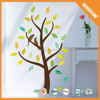 01-00173 Self adhesive wallpaper removable tree wall stickers easy peel off wall stickers india