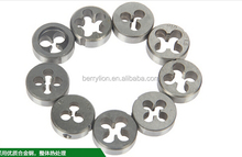 Tap and dise set with blow mold case, 12 pcs tap and die set