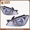 Passenger and driver side car light LANCER 03- 04 head lamp