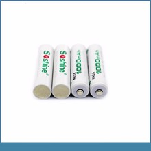 Pre-Charged AAA/Micro aaa ni-mh 1000mah 1.2v rechargeable battery