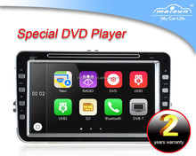 8 inch touch screen in-dash car dvd gps/double din car dvd gps for vw/vw dvd navigation system