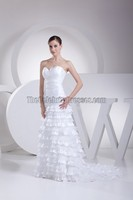 Celebrity Inspired New Arrival Vintage High Demand Products In Market Cheap Plaid Wedding Dress