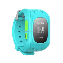 Alibaba supply easy to use kids gps watch real-time positioning smart gps watch phone let your children safer