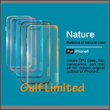 Nillkin Nature Serie TPU Soft Clear Protective Back Case Cover for iPhone 6