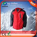 Hj08 7.4v bateria aquecida jaqueta/aquecido roupa para o inverno
