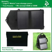 New Solar Charger For Laptop With USB Port