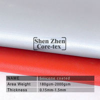 0.4mm grey silicon coating fiberglass fabric for insulation