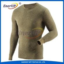 Wool Heated long sleeve Underwear for Men