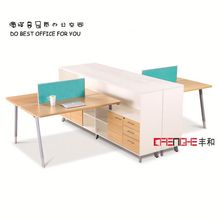 Hot Sale Design Modern Fashion 4 Person Office Table Specifications