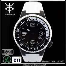 New High quality Products Oversize Bezel Men Sport Wrist Watch Casual Silicone watch rubber colorful watch with date