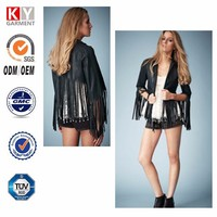 stuning leather jackets,fringe fashion cheap italy clothes wholesale