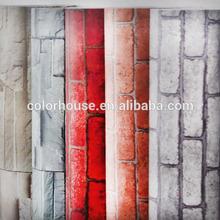 auto adhesivo decorativo papel de moda para pared de clásico ladrillo