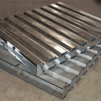 collapsible steel crate, steel pallet, warehouse container