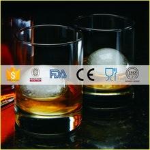 Top grade antique round shot glassware