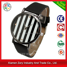 R0718 New arrival watch leather strap fashion trending watches, hot sale elegant leather watch