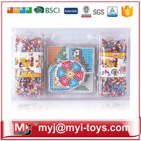 Direct selling plastic hama iron beads toys for preschool classroom AT12A