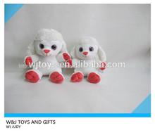 pute ovejas de juguete de felpa con ojos grandes
