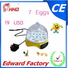 reciente el certificado del ce pequeña incubadora automática huevosparaincubar( 7 huevos) ew9-7 para la venta