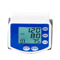 Hot Digital LCD Blood Pressure Meter accurate measurement blood pressure monitor with CE,ROHS