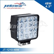 2015 Newest Factory Sell Car Led Spot Light 12v 4.3inch 48w Led Work Light Off Road for Jeep Truck