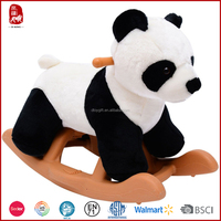 China cheap promotion gift plush rocking panda soft toy