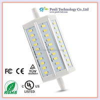 New Hot Item, R7S LED 12W Dimmable 118mm 30 SMD LED Bulb White Halogen Floodlight Lamp 1200LM