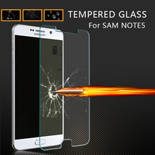 New arrival ultra thin glass film for samsung galaxy note 5 anti-scratch screen protector