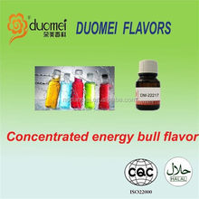 Concentrated E PG/VG mixed energy bull liquid flavor/flavour/essence