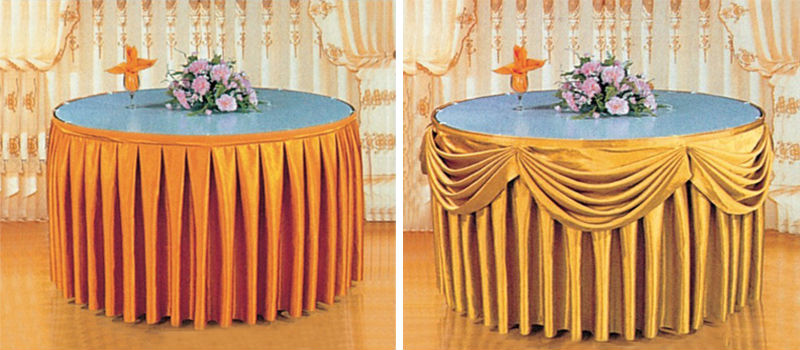 Wholesale Table Skirting Skirts Cover XY35
