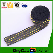 Factory supply polyester jacquard ribbon straps wholesale