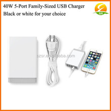 DC 5v usb charger for samsung galaxy s5, with intelligent charging technology